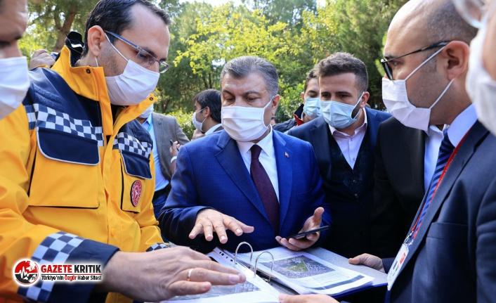 Sağlık Bakanı Koca'dan Buca'ya rekor sürede hastane sözü