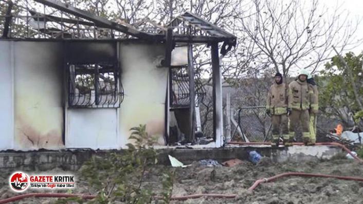 Silivri'deki yangın yürek dağladı! 2 kardeş...