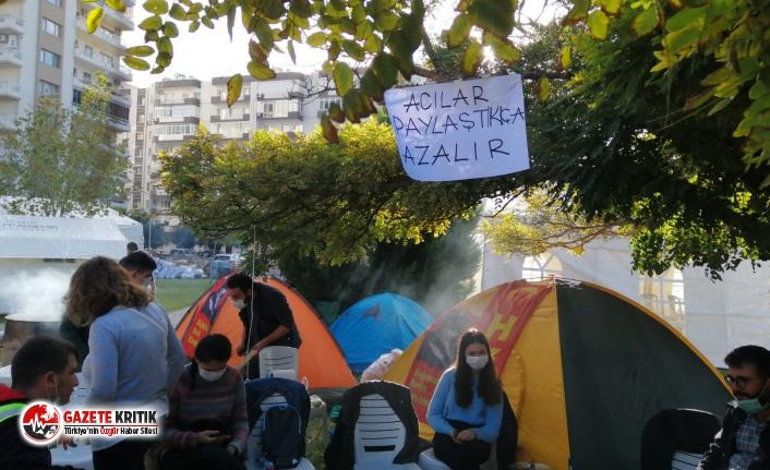 Sosyalistler Dayanışma Çadırı ve Masası Açtı!