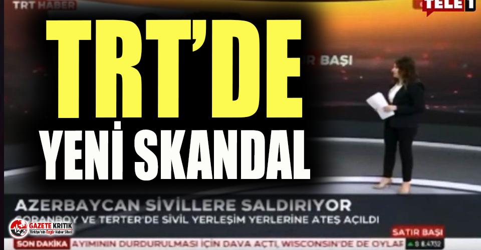TRT'den bir skandal daha! Canlı yayında Azerbaycan'a...