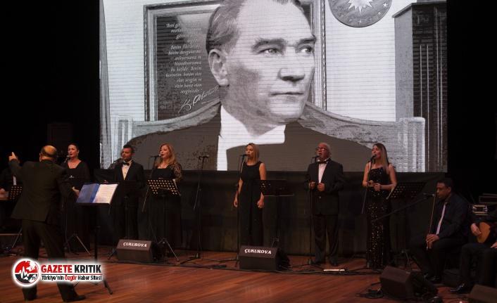 Ulu Önder Atatürk Sevdiği Şarkılarla Anıldı