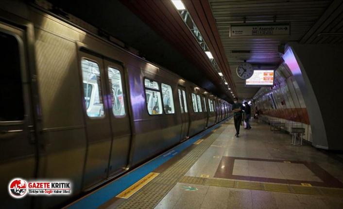 Yenikapı metro istasyonu geçici olarak kapatıldı