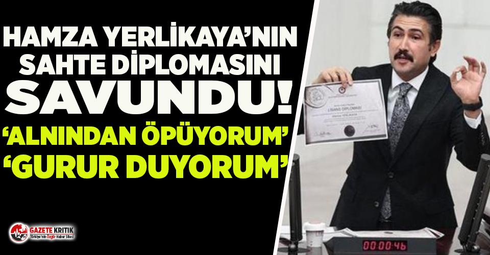 AKP'li Cahit Özkan, Hamza Yerlikaya'nın sahte diplomasını savundu