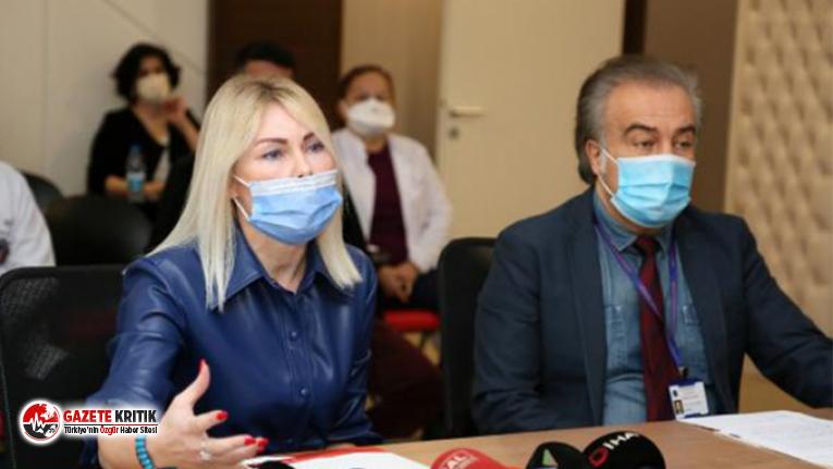 Aşı gönüllüsü Rektör Özkan: Yüzde 60'ımız...