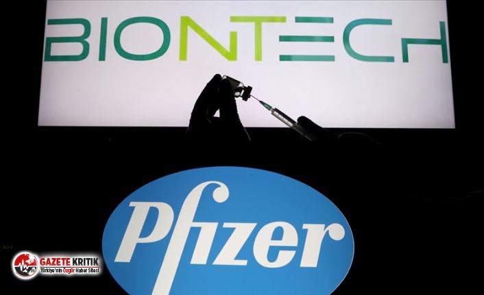 Avrupa İlaç Ajansı'ndan Pfizer-Biontech koronavirüs...