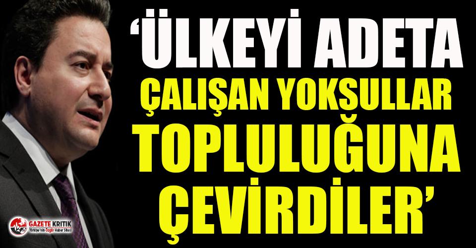 Babacan'dan 'asgari ücret' tepkisi:...