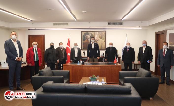 Başkan Gökhan Yüksel Meslek Odalarının Başkanları...