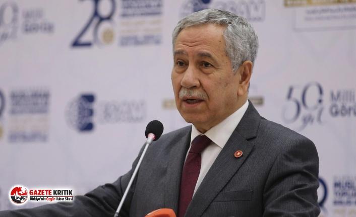 Bülent Arınç'tan istifa sonrası ilk açıklama:...
