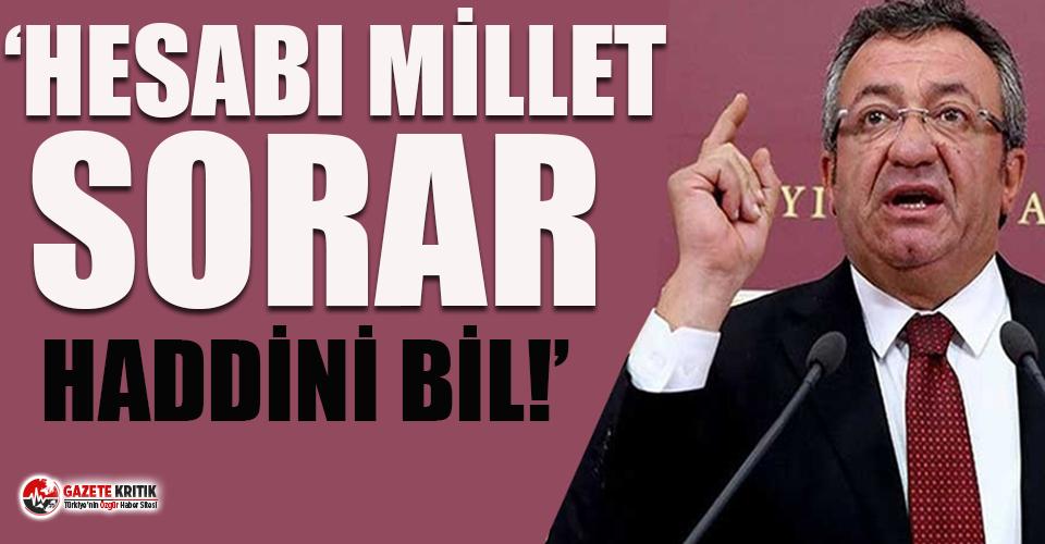 CHP'li Altay'dan İletişim Başkanı Altun'a: Cumhurbaşkanı'nı eleştirilenlere hesap sormak senin boyunu aşar!
