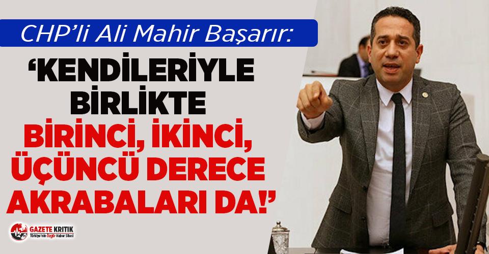 CHP'li Başarır: 'Cumhurbaşkanı avukatlarının mal varlığı araştırılsın'