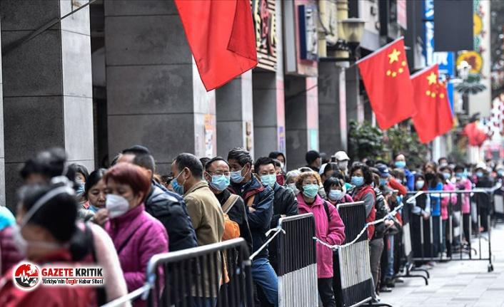 Çin'de 'koronavirüse karşı zafer'...
