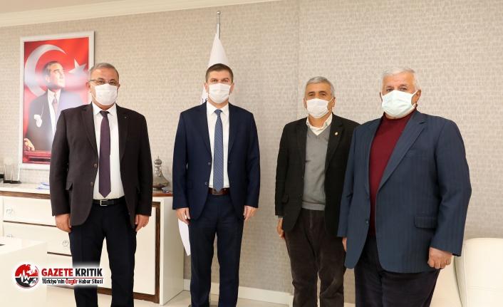 Esnaf Odalarından Başkan Ercengiz'e ziyaret