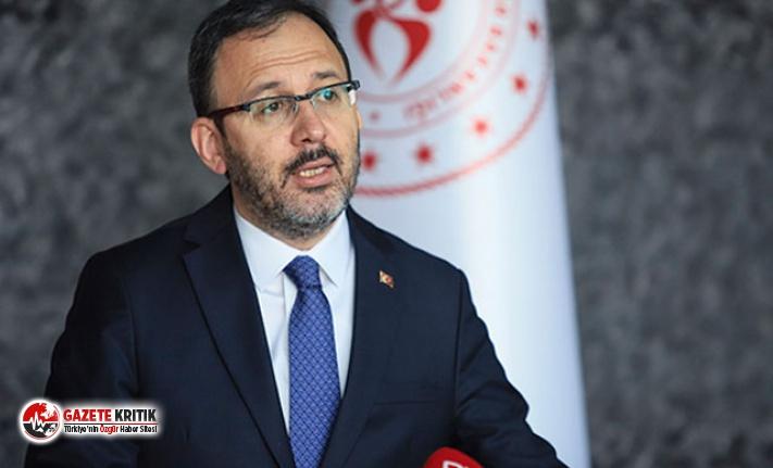 Gençlik ve Spor Bakanı Mehmet Kasapoğlu ve eşi koronavirüse yakalandı