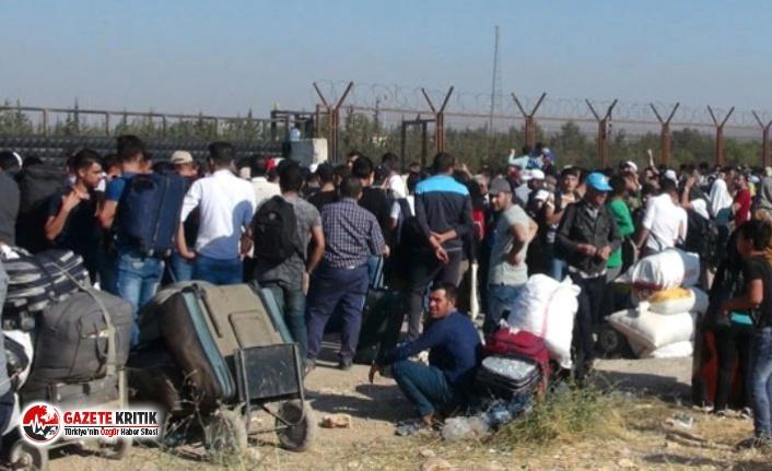 İçişleri Bakanlığı, ülkesine dönen Suriyeli...
