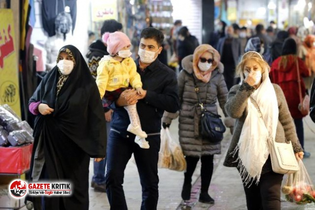 İran'da Kovid-19 kaynaklı can kayıpları 50...