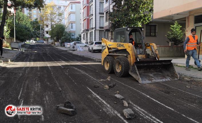 Kartal'ın Altyapısı Güçleniyor, Yolları Yenileniyor