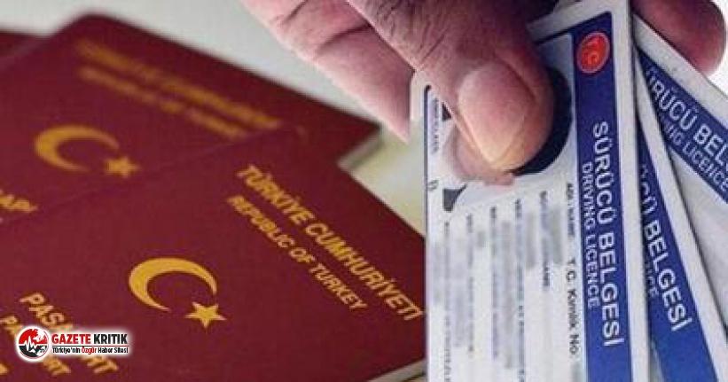 Kimlik, ehliyet ve pasaportlarda yeni dönem başlıyor!