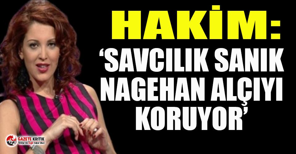 Nagehan Alçı'nın 2 yıl 4 ay hapsi isteniyor