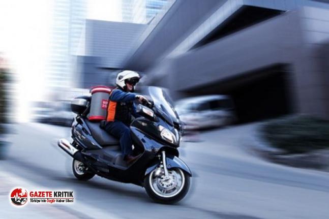 Pandemi sürecinde 160'tan fazla motosikletli...