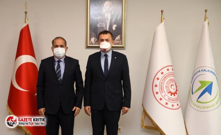 Yenişehir Belediyesinin iki projesine ÇKA'dan destek