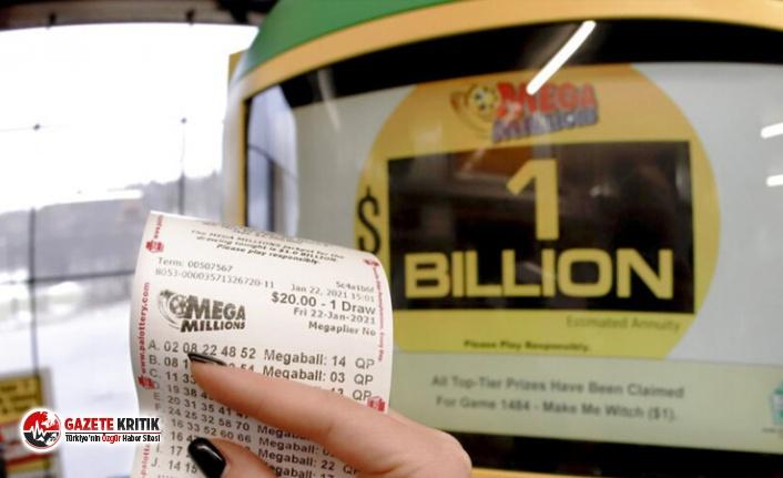 1 milyar dolarlık ikramiye tek kişiye isabet etti!