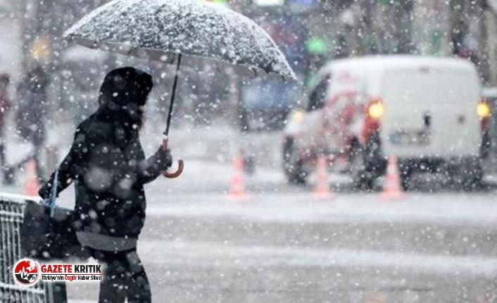 AKOM'dan İstanbullulara kar yağışı uyarısı