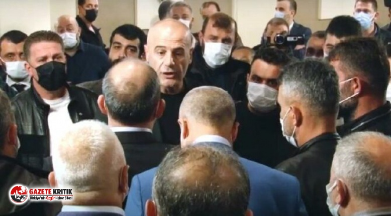AKP il başkanlığına adaylığını açıklamak...