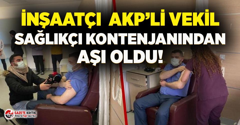 AKP'li ve MHP'li vekiller aşı yarışına...