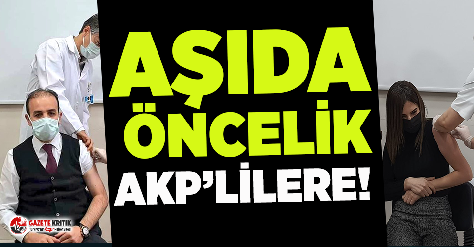 AKP'li vekil ve eşi koronavirüs aşısı oldu