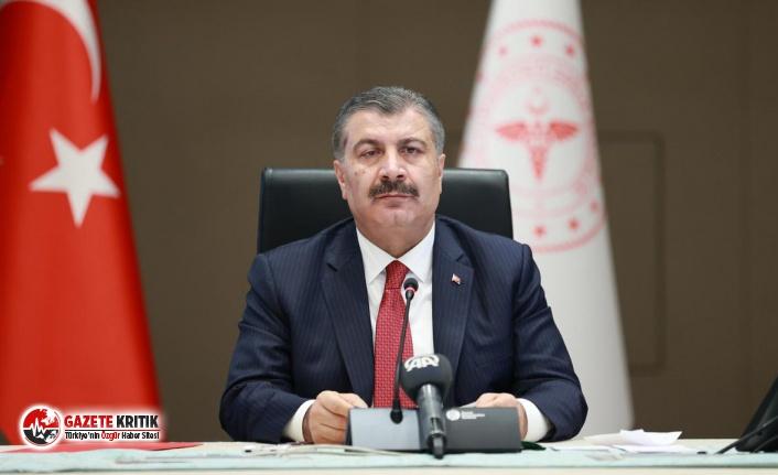 Bakan Koca, HDP Eş Genel Başkanları'na teşekkür...