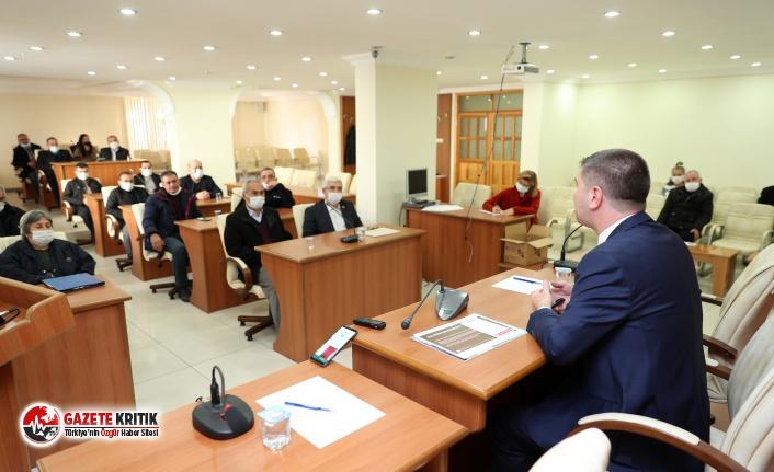 Başkan Ercengiz, Muhtarlarla bir araya geldi