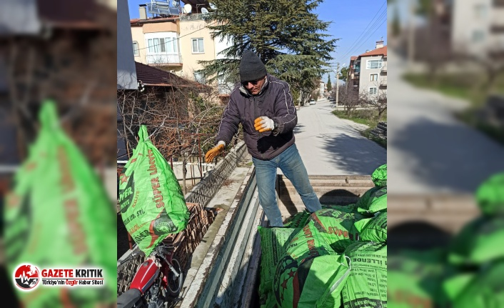 Burdur Belediyesi 35 Mahallede 350 Ton Kömür Dağıttı