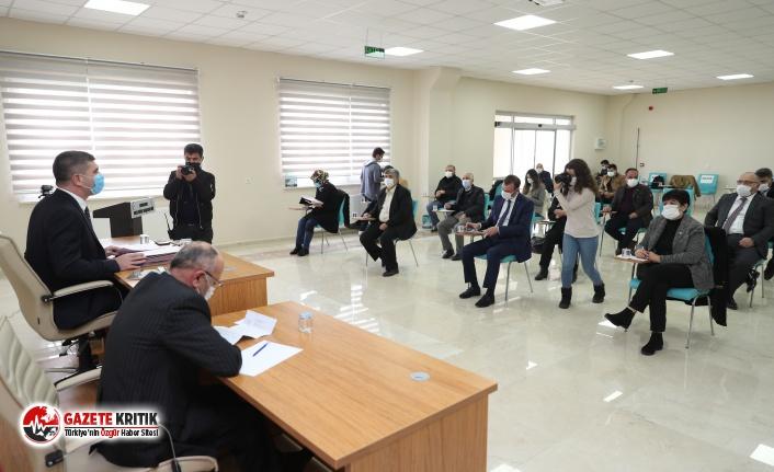 Burdur Belediyesi'nde yılın ilk belediye meclis...