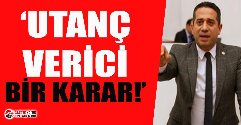 CHP'li Ali Mahir Başarır'dan 'yargıya müdahale' tepkisi