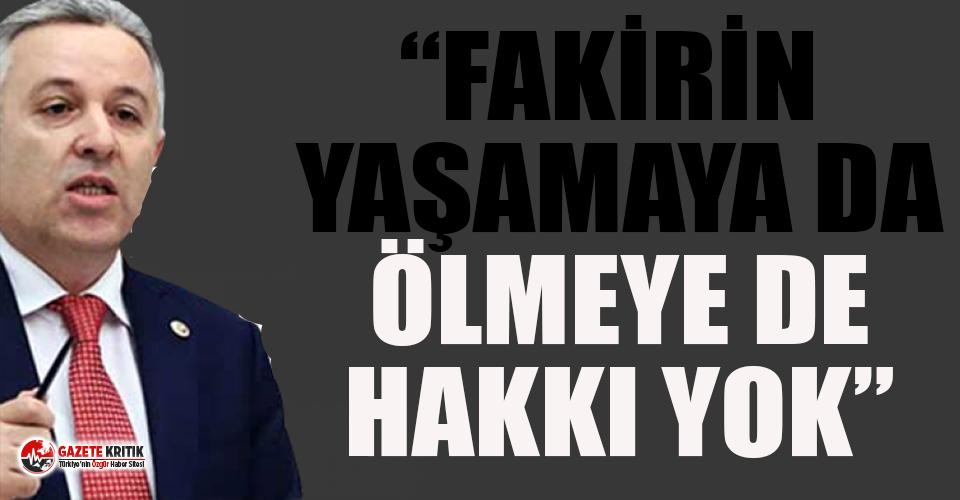 CHP'li Arık'tan 40 bin liralık mezarlık tepkisi!