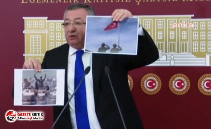 CHP'li Engin Altay'dan Erdoğan'a fotoğraflı yanıt