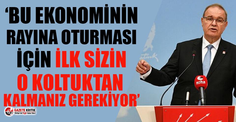 CHP'li Öztrak: Erdoğan sarayından çıkmıyor, gerçekleri görmüyor
