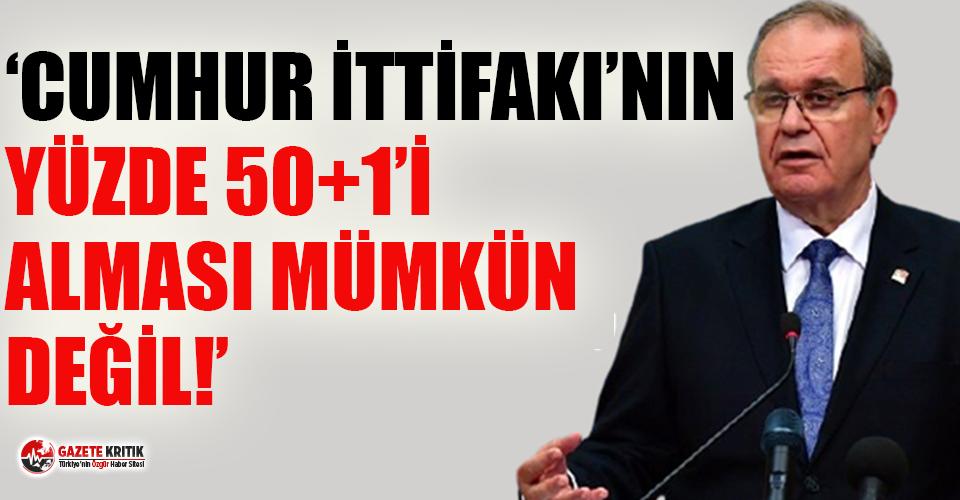 CHP'li Öztrak: Korkunun ecele faydası yoktur gidecekler!
