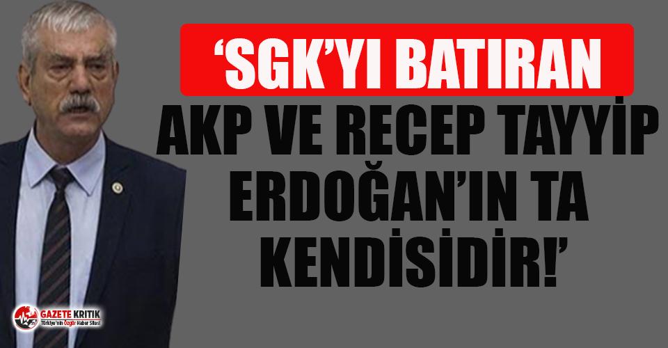 CHP'li Beko'dan Erdoğan'a SGK yanıtı!
