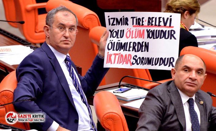 CHP'li Sertel Tire-Belevi yoluna ayrılan bütçeyi...