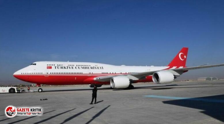Cumhurbaşkanı'nın uçak sayısı ilk kez açıklandı