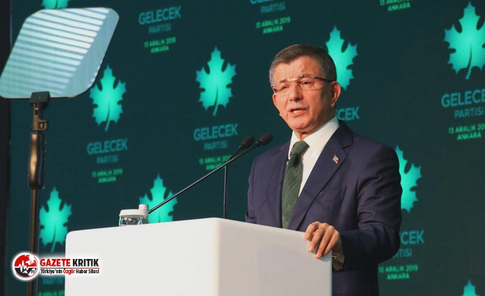 Davutoğlu: Bahçeli ve Perinçek, Erdoğan'ı 'suç...