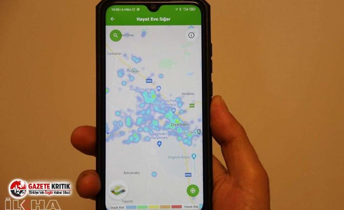 Diyarbakır'da Koronavirüs haritası yeşile...