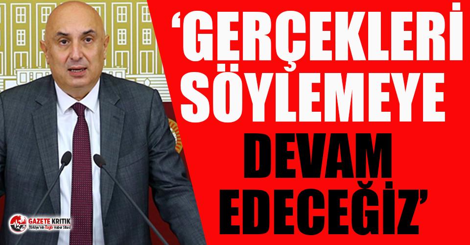 Erdoğan'dan CHP'li Engin Özkoç'a...