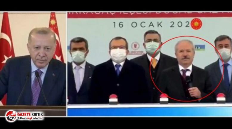 Erdoğan'ın bu hareketi olay oldu: ''Sen...