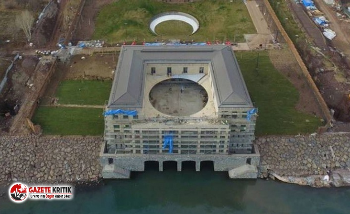 Erdoğan'ın Doğu'daki Sarayı için 125...