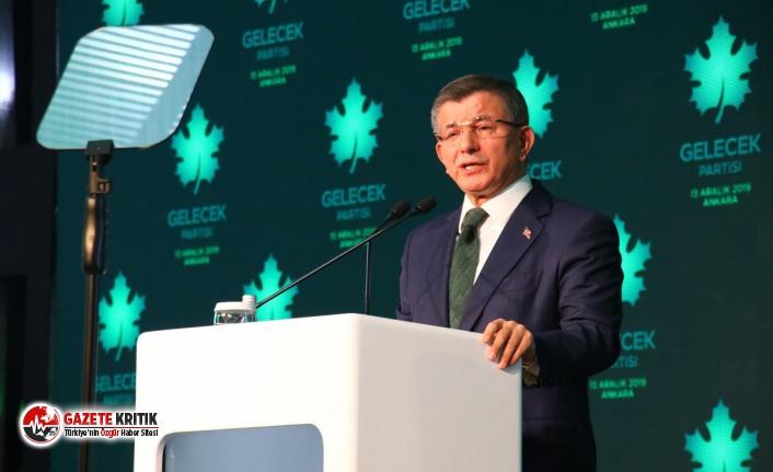 Gelecek Partisi Genel Başkanı Davutoğlu'nun...