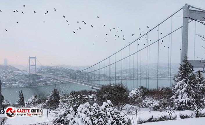 İstanbul'a kar yağışı uyarısı!