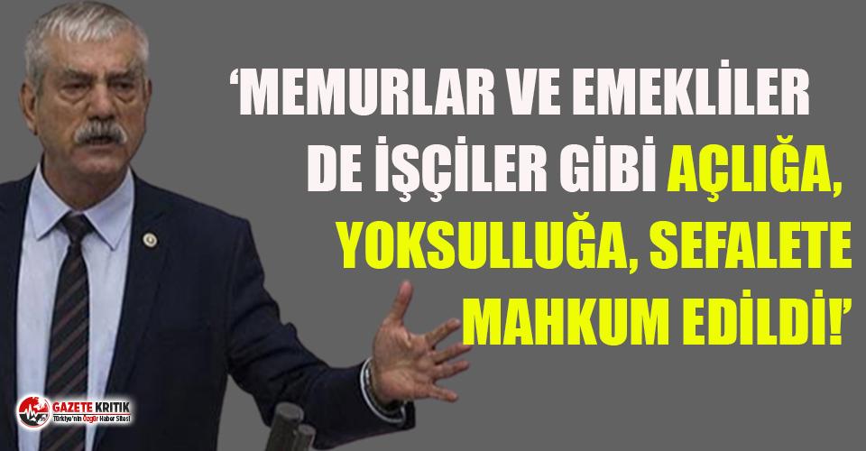 Kani Beko: AKP demek yoksulluk, işsizlik, yokluk...