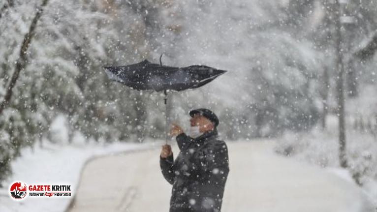 Kar yağışı kaç gün sürecek? Meteoroloji'den...
